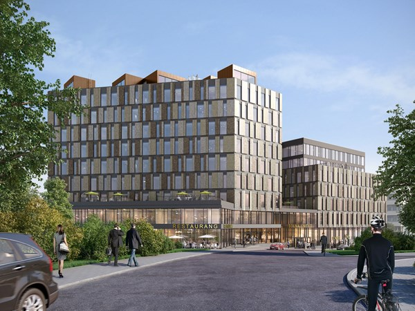 Solna United buildning